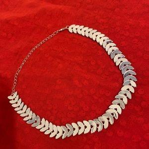 Silver Minimalist Choker / NEW Trendy